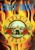Guns N'Roses - 'Logo and Flames' Poster Flag